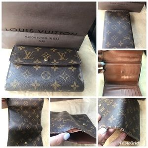 💯% Authentic Louis Vuitton Trifold Wallet